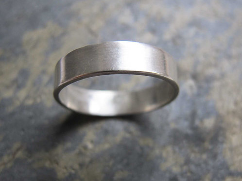 men's thick wedding band