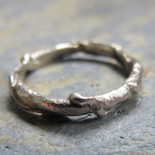rustic handmade wedding ring - Handmade Wedding Rings