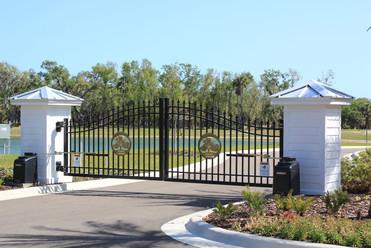 Bulow Creek Seaside Landings Gate Install