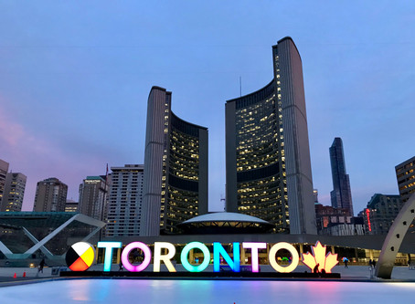 Good morning Toronto!