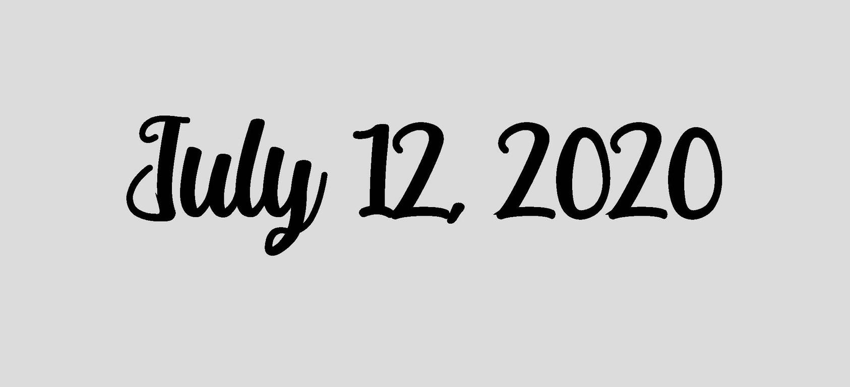 July 12, 2020