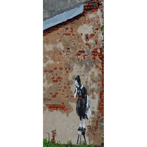 Banksy Girl On A Stool