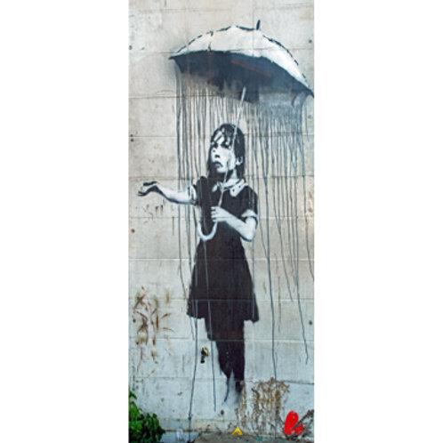 Banksy Umbrella Girl