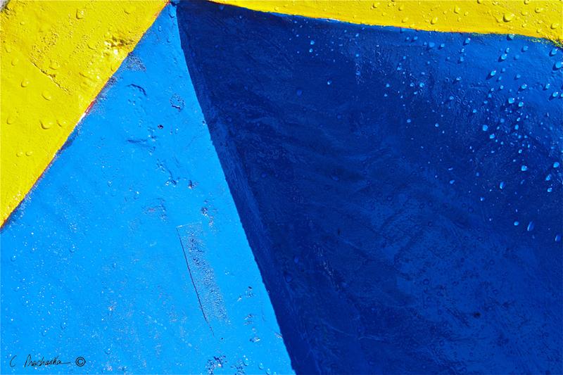 Blue Shade Yellow CA00055