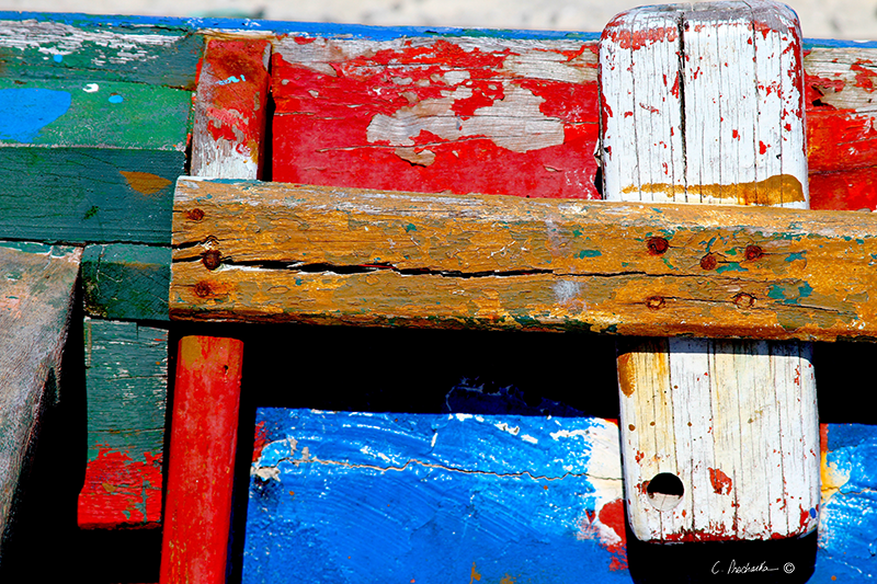 Boards, Nails, Paint  CA00078