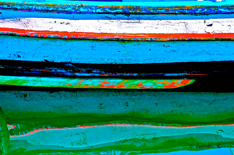 Reflected Color Stripes CA00057