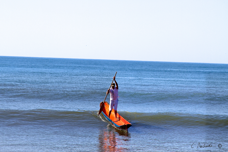 Paddle Canoe Surfing CP00032