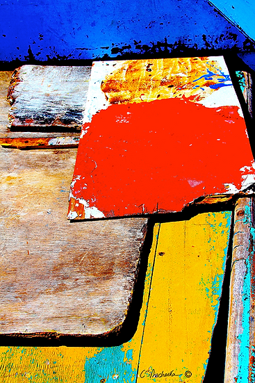 Painted Pieces Primary CA00106
