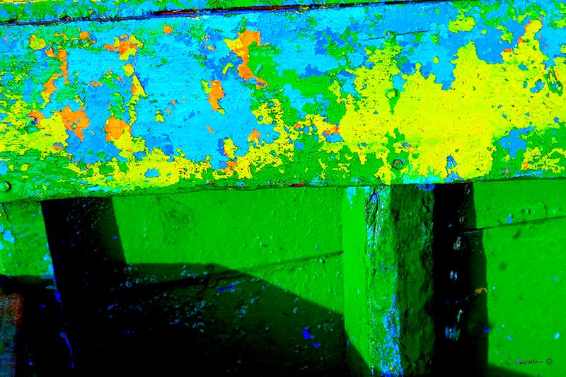 Blue & Yellow Green CA00001