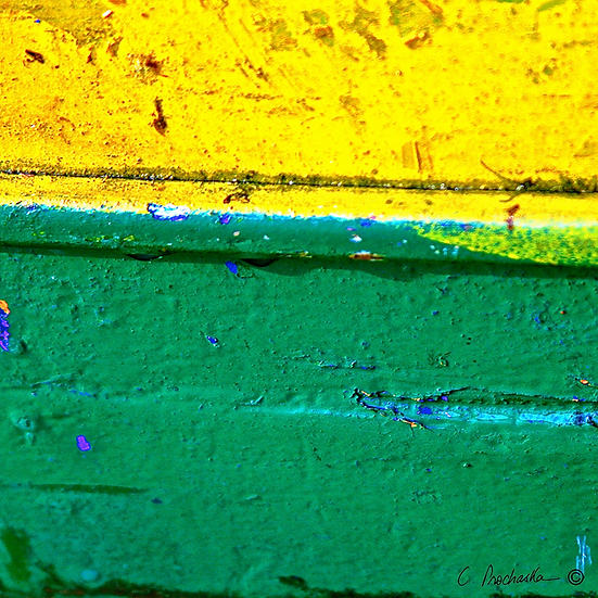 Yellow over Green  CA00112