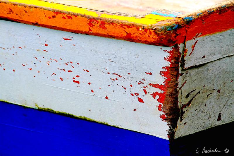Blue Boat Box Corner  CA00069