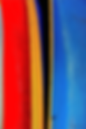 Vibrant abstract with blues yellow and red