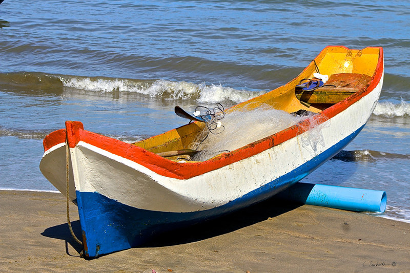Brazilian Fishing Canoe  CP00733