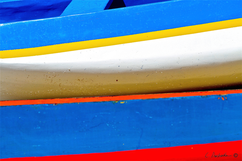Primary Colored Canoes CP00033
