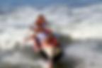 Fishermen canoe surfing