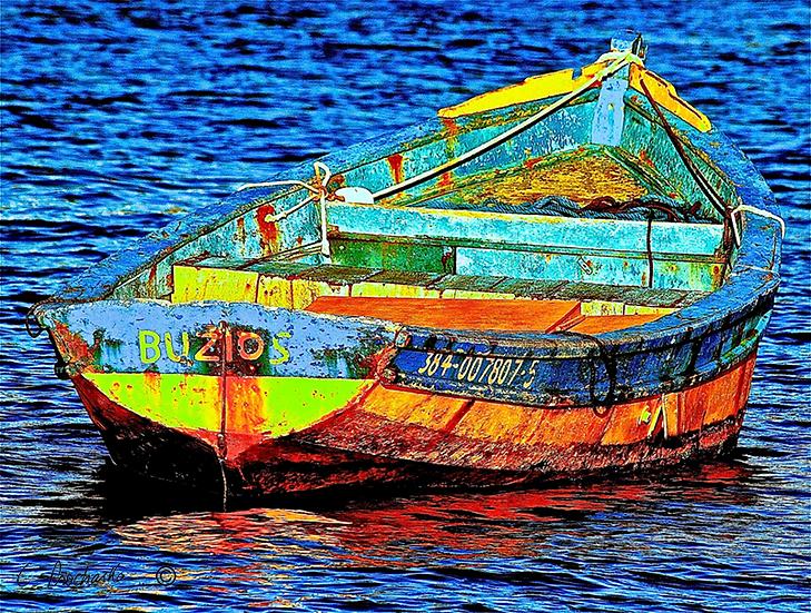 Rusty Buzios Boat BG00086