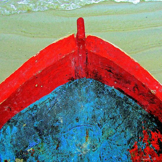 Canoe Stem in Red CP00723