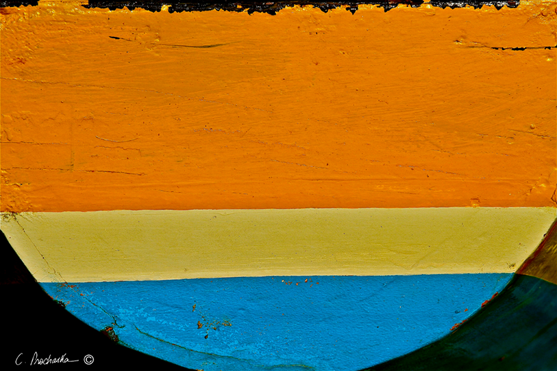 Orange Blue Transom CA00010