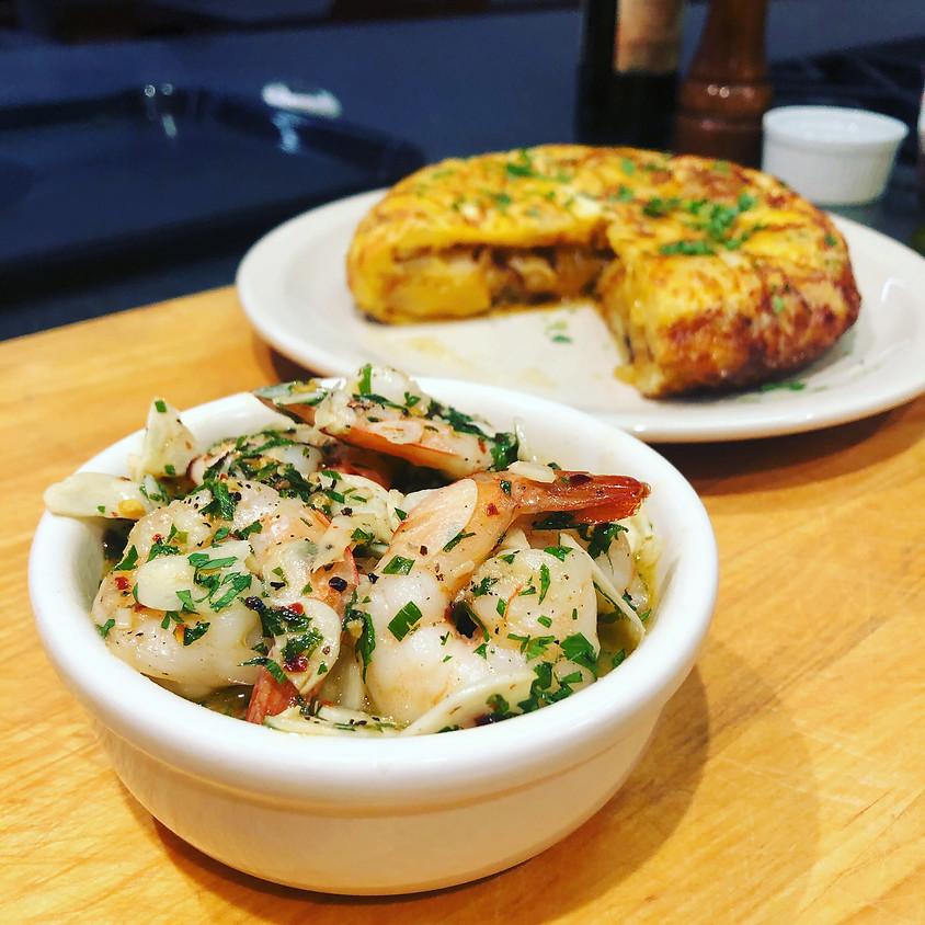 Cook Along: Spanish Tapas with Tiago Freitas