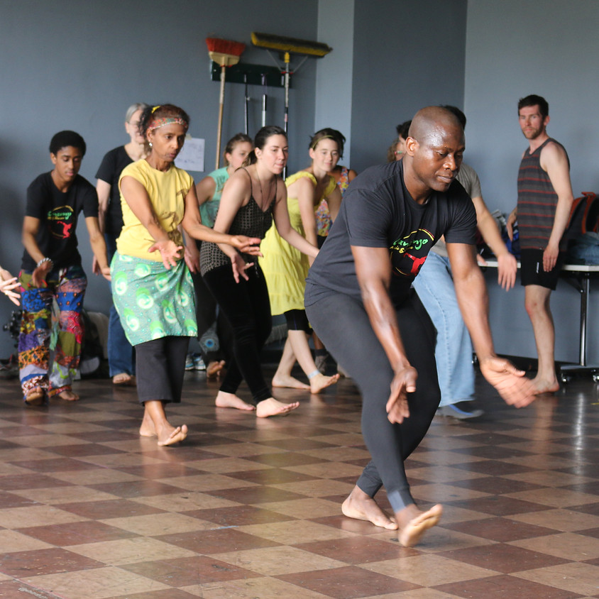 West African Dance with Etienne Cakpo
