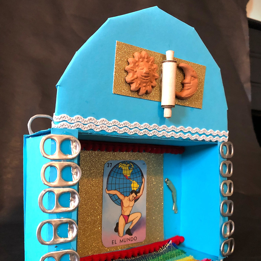 Mixed Media Nicho Boxes with Amaranta Ibarra Sandys