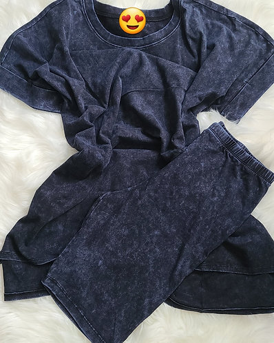Wash Set/Navy Blue