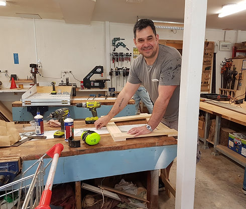 Anthony woodworking