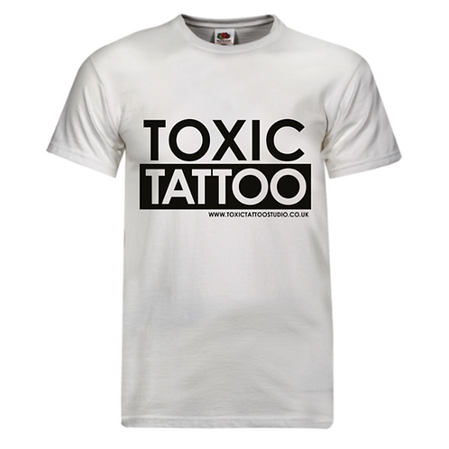 Toxic Tattoo Box Logo - Men's T-Shirt