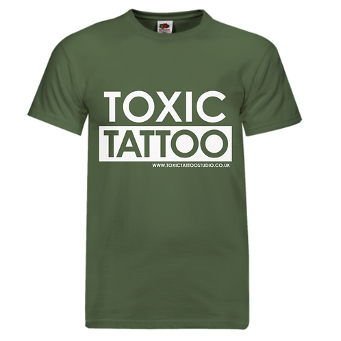 Toxic Tattoo Box Logo - Men's T-Shirt