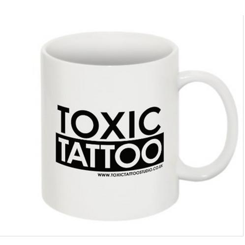 Toxic Tattoo Box Logo - Mug