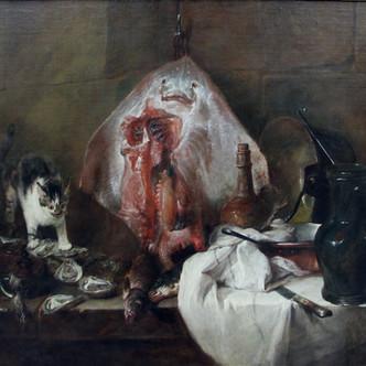 Jean-Siméon Chardin : La Raie