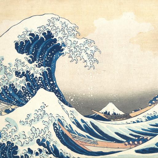 Hokusai, traité d'impermanence : Trente-Six Vues du Mont Fuji