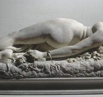 Moulages oniriques d'Apollonie Sabatier : d'Auguste Clésinger à Théophile Gautier