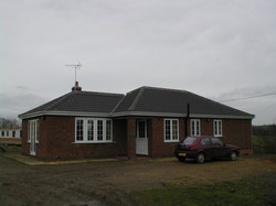 bungalow extension - distance
