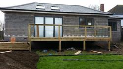 Bungalow external insulation