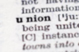 Dictionary definition of word Union sele