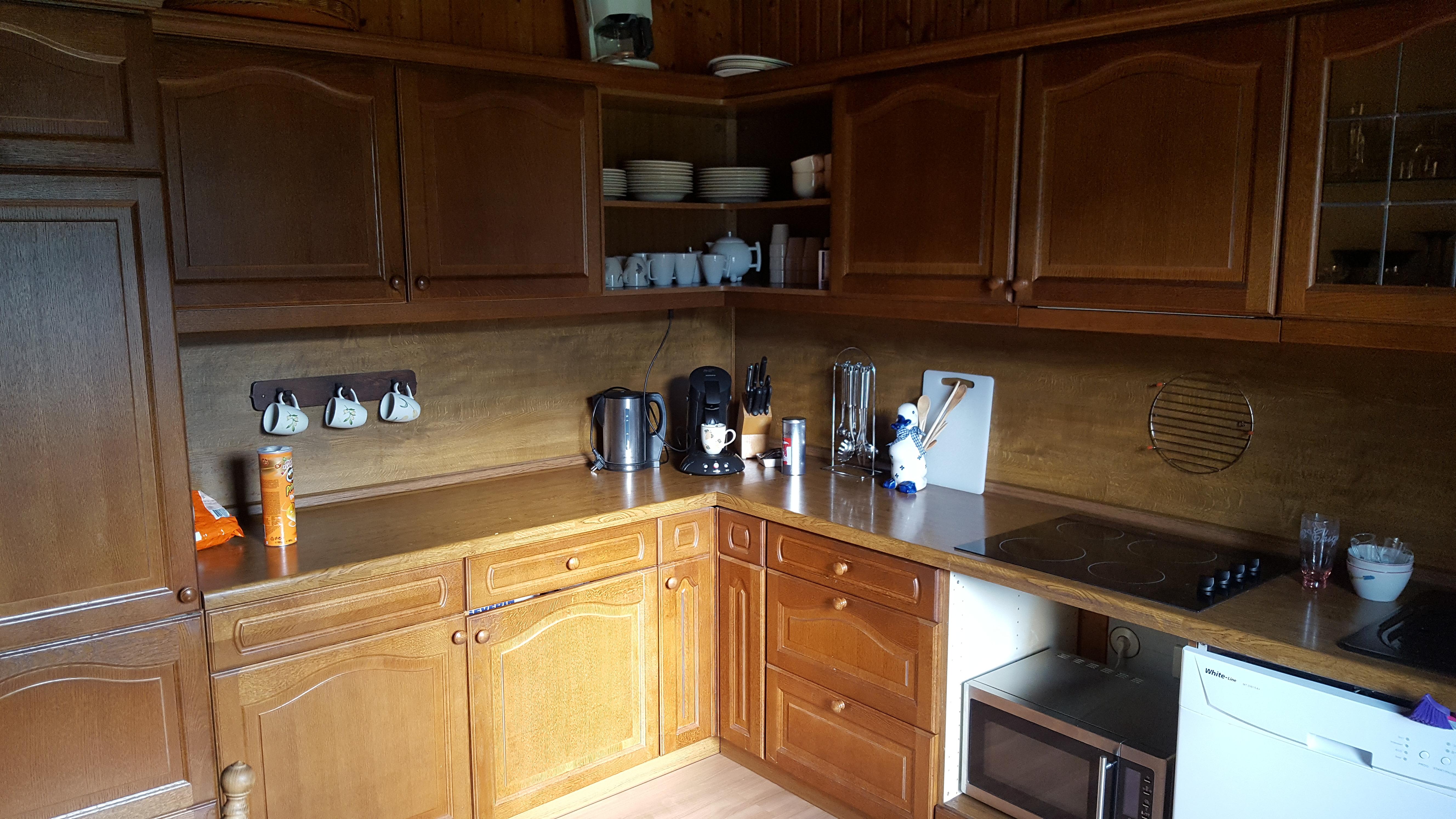 ruime keuken met alle voorzieningen