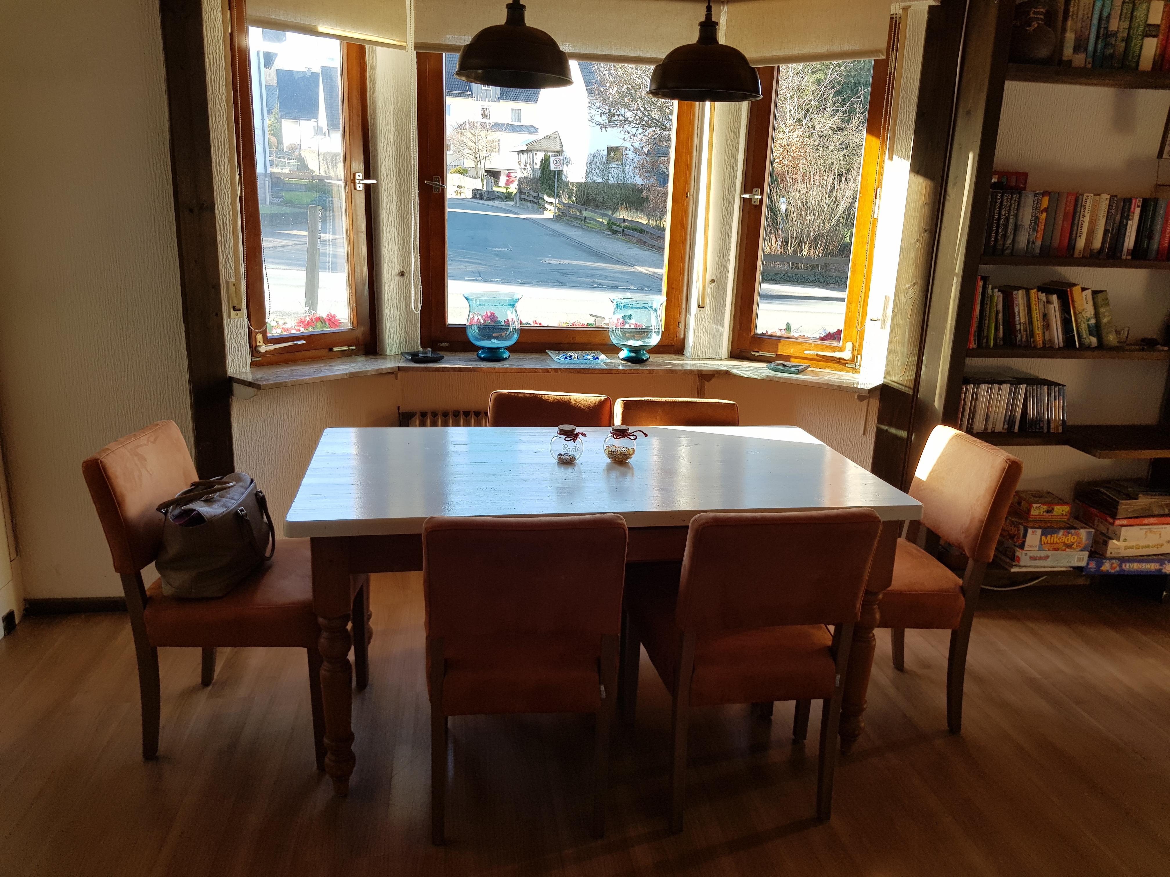 tafel woonkamer