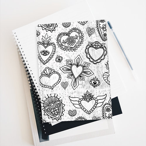 Sacred Heart Milagros Journal - Blank