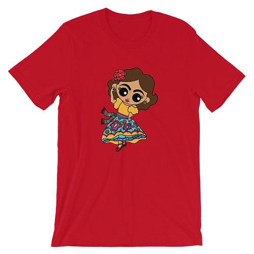 Dancing Señorita Adult Unisex T-shirt