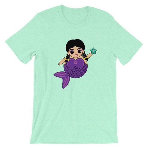 Purple Sirena Adult Unisex T-shirt