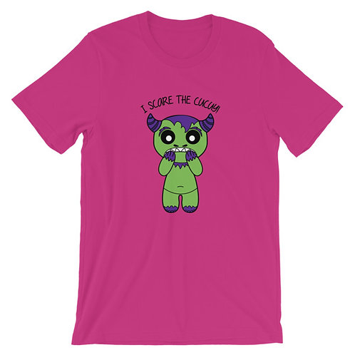 I Scare the Cucuy Adult Unisex T-shirt