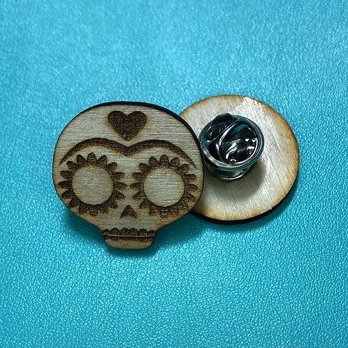 Calavera Pin-back Buttons