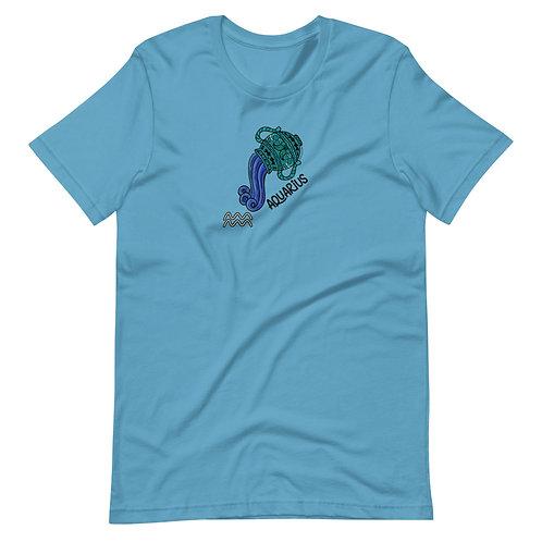 Aquarius Short-Sleeve Unisex T-Shirt