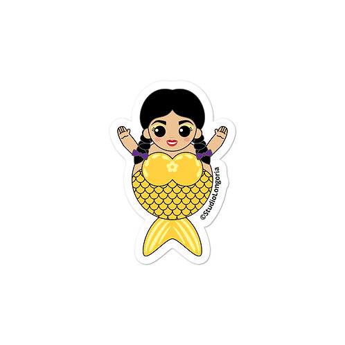 Yellow Sirena Bubble-free stickers