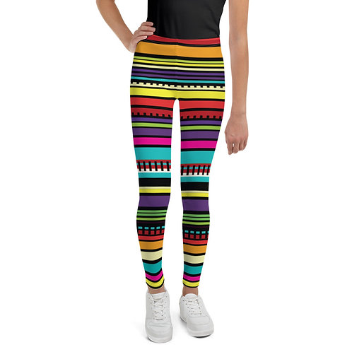 Serape Print Kids Leggings