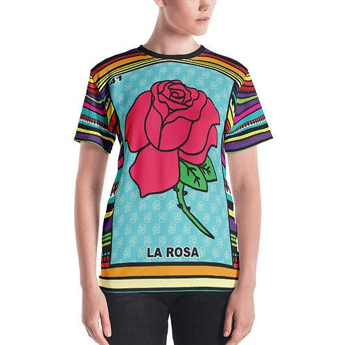La Rosa Print Women's T-shirt