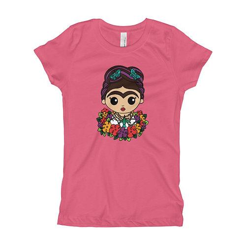 Frida Hummingbird  Girl's Slim Fit Tee
