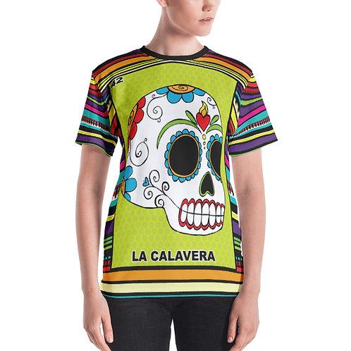 La Calavera Print Women's T-shirt