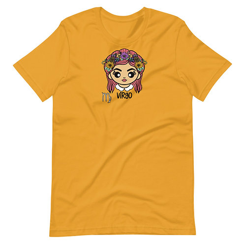 Virgo Short-Sleeve Unisex T-Shirt